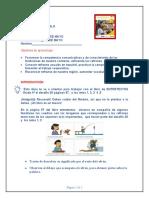 Guía de aprendizaje para gradooCUARTO lenguaje tutora NATALIA DIAZ