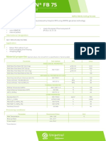 Technical datasheet LITEN FB 75_eng