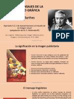 Conceptos básicos de Barthes-Los tres mensajes