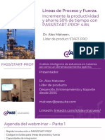 PASS START-PROF Capabilities for Pipe Stress Analysis of Power and Process Piping Systems (Spanish)