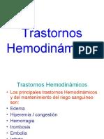 Trastornos Hemodinámicos