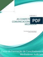 AS COMPETÊNCIAS COMUNICACIONAIS DO MEDIADOR CNJ 2019