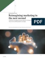 reimagining marketing in the next normal