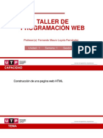 TALLER DE PRPGRAMACION WEB