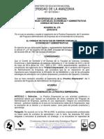 Acuerdo 275 de 2014 - Practica Empresarial PAE