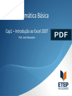 Cap1 - Excel - 1Sem2010