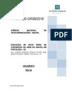Anexo VI - Planilha de Orçamento Estimado, Cronograma Físico-Financeiro e Planilha de Composição de BDI