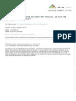 La réforme du droit du travail  Fretel.pdf