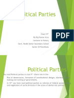 Political Parties Class 10 Notes