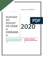 ELEVAGE DU POULET DE CHAIR A DIMBAMBA