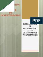 La Recoleccion de Informacion y Datos Cuantitativos y Cualitativos