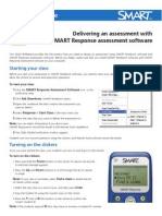 how to deliver an assessment in smart response