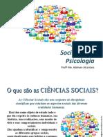 As Ciências Sociais e os Primeiros Sociólogos.ppt