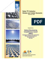 Solar PV Industry_Global and Indian Scenario