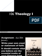 Theology I - Introduction