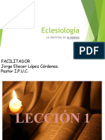 Diapositivas Eclesiologia