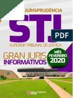 STJ - Gran Juris Informativos Fevereiro 2020
