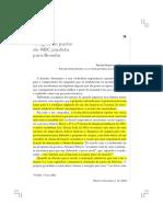 A lógica do pacto ABC BRASILIA