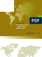 Report on the International Status of Open Source Software 2010