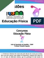 Concursos Educação Física - IBAM