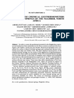 Application of chemical geothermometers to thermal springs of the Maghreb, North Africa2