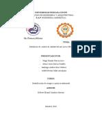 informe sobre monitoreo de calidad ambiental del aire
