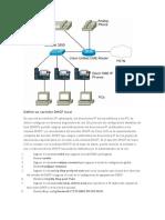 Definir un servidor DHCP local