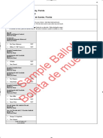 Sumter County Sample Ballots 2020 Primary
