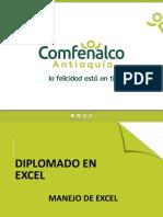CLASE 1. MANEJO DE EXCEL