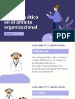 Problema ético en el ámbito organizacional _ Act No. 8