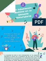 Educación Musical Escuela Secundaria