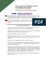 PROTOCOLO  OBSERVACION DE LEVANTAMIENTO DE CADAVER