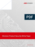 Hikvision Product Security White Paper