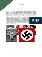 Biografia Adolf Hitler