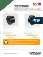 Montagewerkzeug Radlager 11620-7