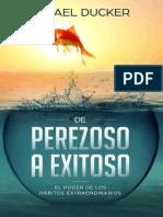De perezoso a exitoso- Rafael Ducker