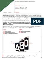 Samsung Galaxy A80 - scheda tecnica, caratteristiche e prezzo _ PuntoCellulare.it