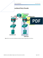 Lab 05 - Configuring Zone-Based Policy Firewalls