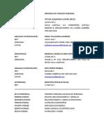 CONTESTA DDA. CP CASTRO con FLORES