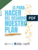 Pistas para hacer del desarrollo nuestro plan