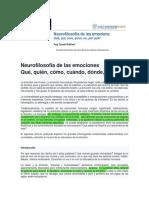 JOEDU - Neurofilosofia de las emociones