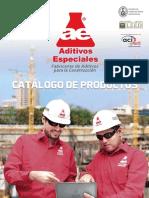 Catalogo Aditivos Especiales Sac 2020