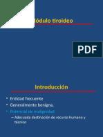 nodulo tiroideo.pptx