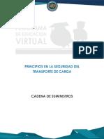 PRINCIPIOS EN LA SEGURIDAD DEL TRANSPORTE DE CARGA_CADENA DE SUMINISTROS