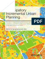 Participatory Incremental Urban Planning