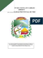 RENDICIÓN DE CUENTA EN CABILDO ABIERTO  SHIR