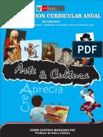 Arte y Cultura Planificación Curricular 2020