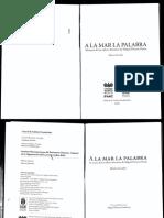 A la mar de la palabra - Memorias del taller de Miguel Donoso Pareja