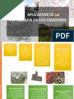 Aplicacion de la topografia en los catastros(parte1)