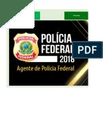 Edital-verticalizado - Polícia Federal 2018 - Agente